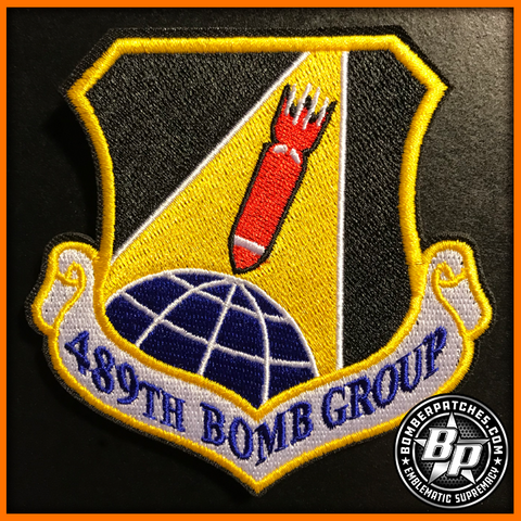 B-1B 489th Bomb Group 307th Bomb Wing Patch