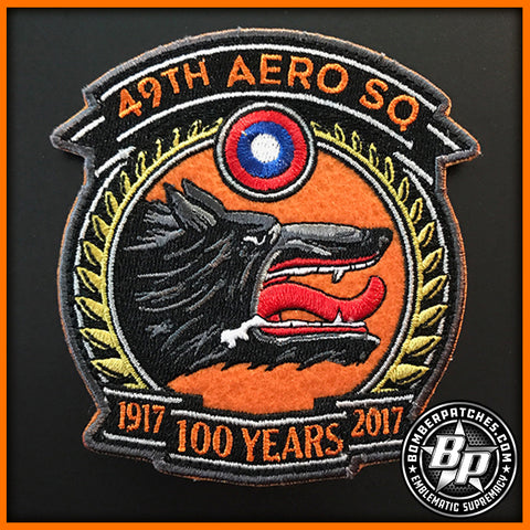 49th Test and Evaluation Squadron 100th Anniversary Patch