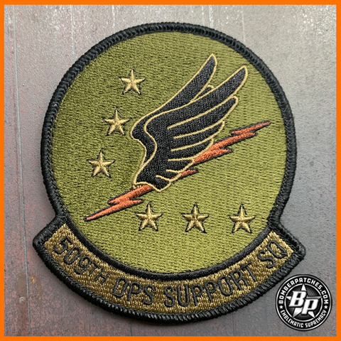 509TH OPERATIONS SUPPORT SQUADRON PATCH OCP B-2 WHITEMAN AFB