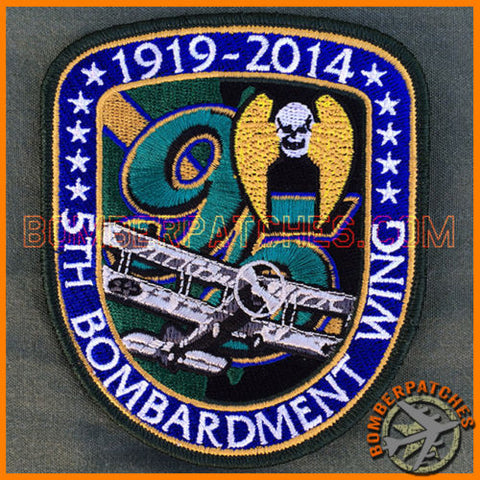 5TH BOMB WING 95TH ANNIVERSARY PATCH