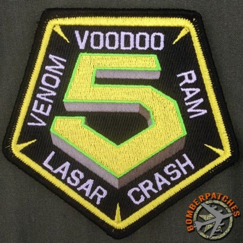 69 Expeditionary Bomb Squadron Guam HARD CREW Morale Patch
