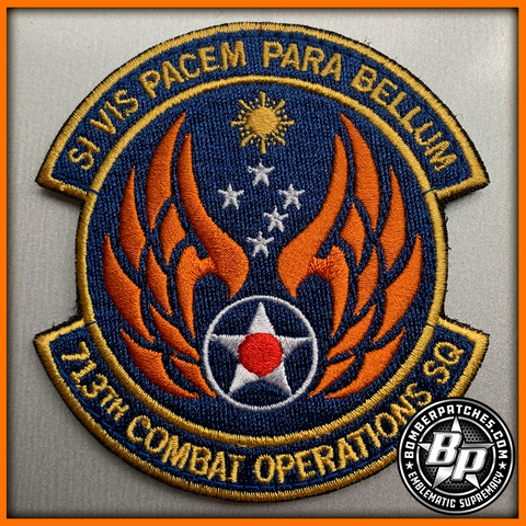 713th Combat Operations Squadron, Beale AFB / Joint Base Pearl Harbor-Hickam, Full Color