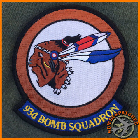 93d Bomb Squadron Patch, US Air Force Reserve Barksdale AFB