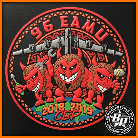 B-52 96 EAMU 2018 2019 CBP DEPLOYMENT PATCH