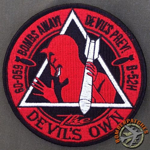 96th Bomb Squadron Nose Art Series Patch, 60-059