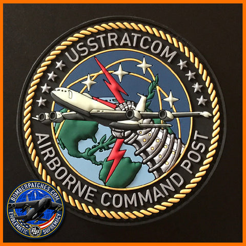 USSTRATCOM AIRBORNE COMMAND POST ABNCP PVC PATCH