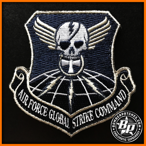 20th BOMB SQUADRON GLOBAL STRIKE MORALE PATCH B-52 STRATOFORTRESS