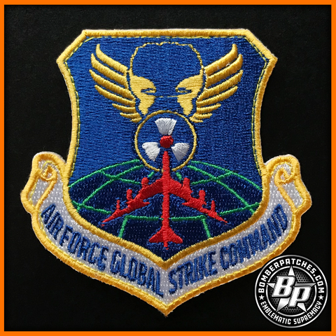 "AIR FORCE GLOBAL STRIKE COMMAND MORALE ""FRIDAY"" B-52 PATCH"