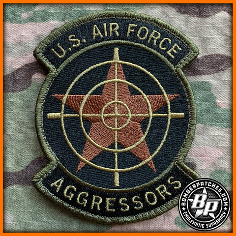 64th Aggressor Squadron Patch OCP Embroidered