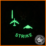 8th A3 Air Force Air Force Strategic Strike, PVC, Glow in the Dark