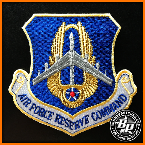 B-52 AIR FORCE RESERVE COMMAND PATCH, 307TH BOMB WING, 93D BOMB SQ