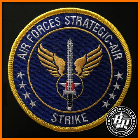 Joint Global Strike Operations Center Air Forces Strategic - Air Embroidered Patch