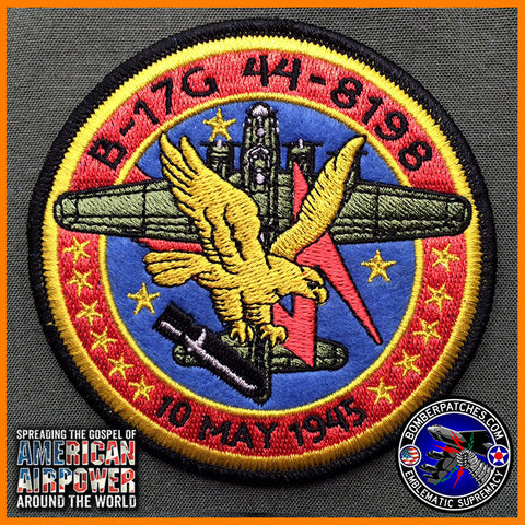 70th Anniv B-17 Memorial Patch
