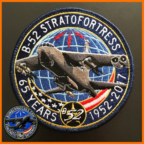 B-52 STRATOFORTRESS 65TH ANNIVERSARY PATCH