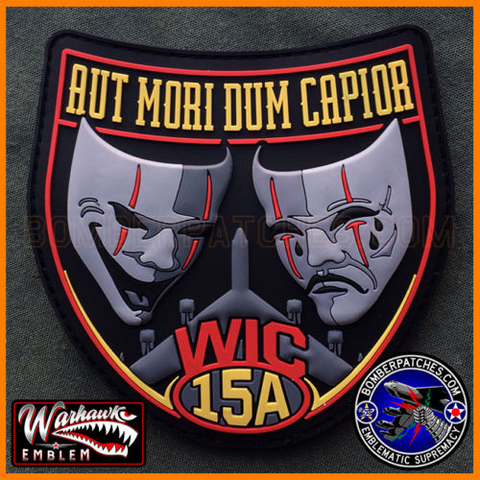 B-52 Weapons School Class 15A PVC Patch