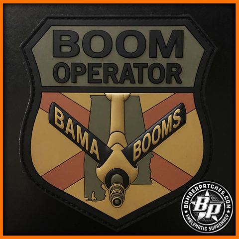 117TH AIR REFUELING WING BOOM OPERATOR PVC PATCH, OCP