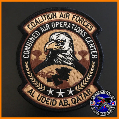 CAOC (COMBINED AIR OPERATIONS CENTER) PATCH DESERT