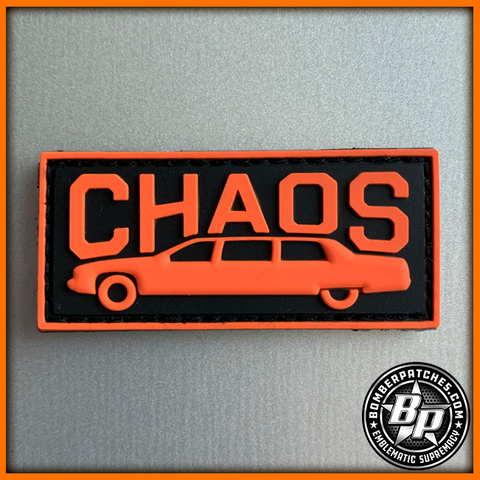 "343d Bomb Squadron ""Chaos"" Limo Tab Patch"
