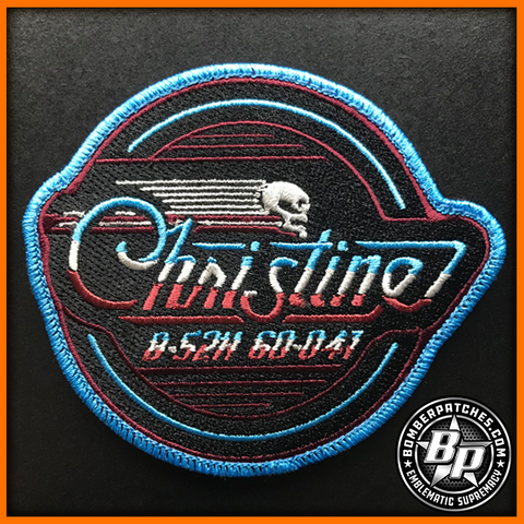 CHRISTINE B-52H 60-041, Nose Art Series Embroidered Patch