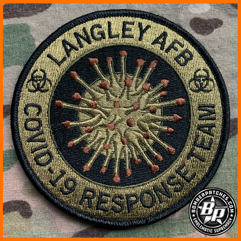 633d Medical Group Covid 19 Response Team, Langley AFB OCP Patch