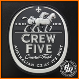 E-7A WEDGETAIL CREW FIVE PVC PATCH, ROYAL AUSTRALIAN AIR FORCE