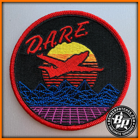 "318th Special Operations Squadron ""DARE"" Morale Patch, U-28A, Cannon AFB"