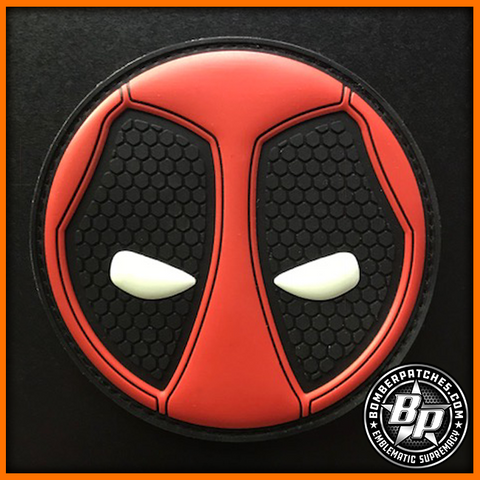 """Deadpool"" Inspired Morale Patch"