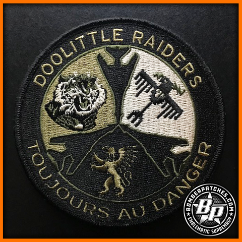 "28th Operations Group ""Doolittle Raiders"" Embroidered Patch, B-1B, Ellsworth AFB, OCP"