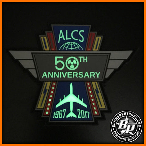 E-6B Mercury Looking Glass TACAMO ALCS 50th Anniversary Patch USSTRATCOM Offutt