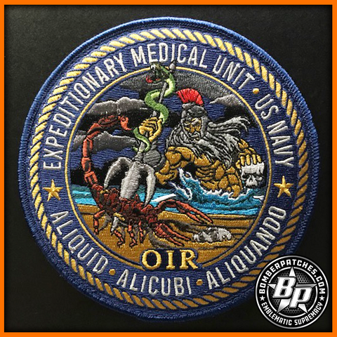 United States Navy Expeditionary Medical Unit, Operation Inherent Resolve