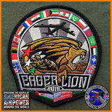 EAGER LION 2015 B-52 PATCH, JORDAN / NATO 96TH