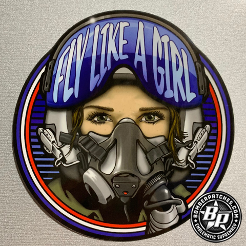 Fly Like A Girl - STICKER