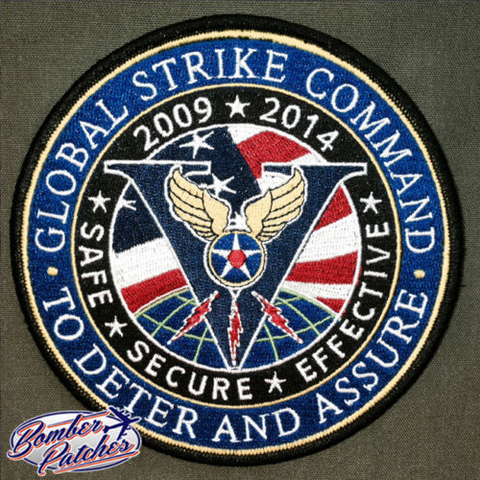 Air Force Global Strike Command 5 Year Anniversary Patch