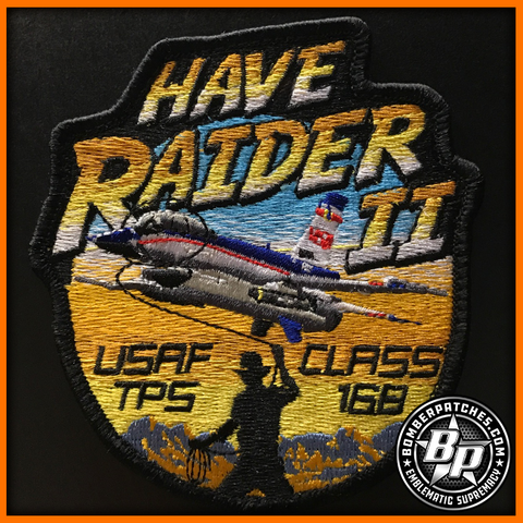 Air Force Test Pilot School Class 16B Patch, Have Raider II Program, Edwards AFB
