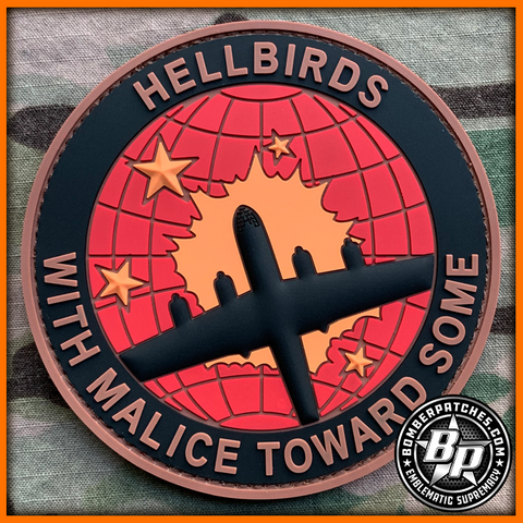 462nd Bombardment Group Hellbirds, B-29 Super Superfortress, PVC Patch