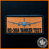 RAAF KC-30A MULTI ROLE TANKER TRANSPORT FLIGHT TEST PVC PATCH AND TAB