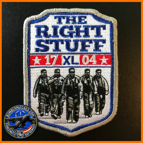 "SUPT Class 17-04 Patch, ""The Right Stuff"""
