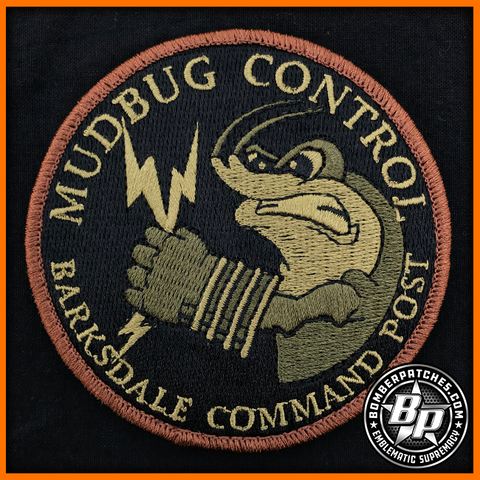 BARKSDALE AFB COMMAND POST PATCH Subuded
