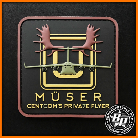 "816th Expeditionary Airlift Squadron ""Muser"" Patch, C-17 Globemaster III"