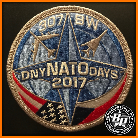 307th Bomb Wing NATO Days 2017 Patch Ostrava Czech Republic B-52 B-1B 93d 9th BS