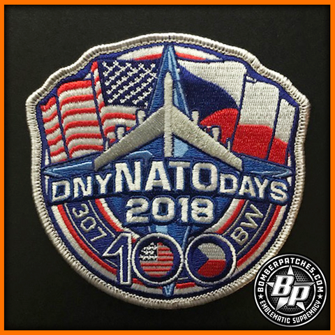 NATO DAYS 2018 EMBROIDERED PATCH CZECH REPUBLIC
