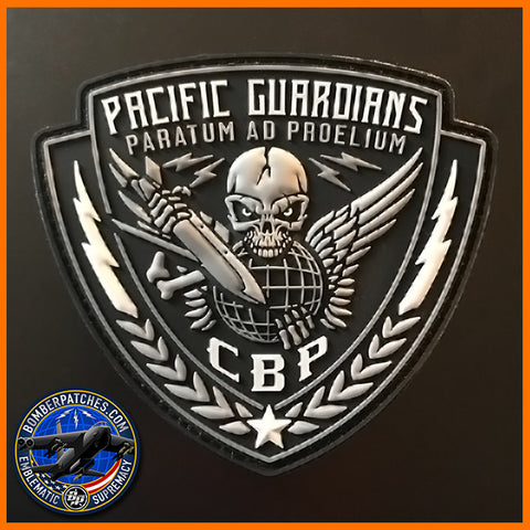 "69th Expeditionary Bomb Squadron ""PACIFIC GUARDIANS"" Continuous Bomber Presence Patch"