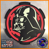 Darth Vader PVC Patch Glow In The Dark Imperial Cog Star Wars The Force Awakens