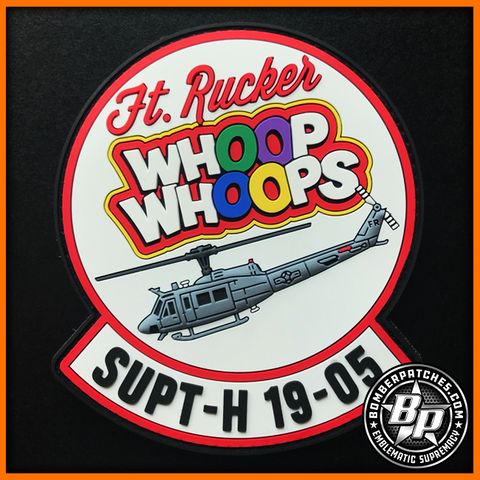 SUPT-H Class 19-05 PVC Patch, UH-1H, Ft. Rucker, AL, Full Color