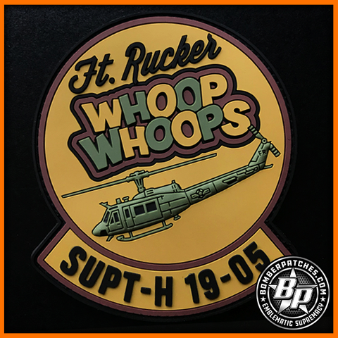 SUPT-H CLASS 19-05 PVC PATCH, UH-1H, FT. RUCKER, AL, OCP