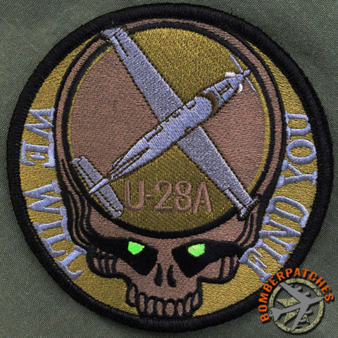 "U-28A Dead Head ""We Will Find You"" Patch"