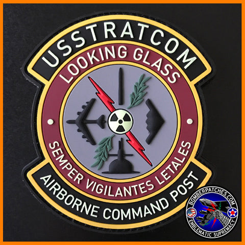 USSTRATCOM LOOKING GLASS AIRBORNE COMMAND POST PVC PATCH