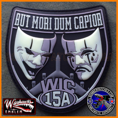 B-52 WIC 15A PVC Glow In The Dark Patch
