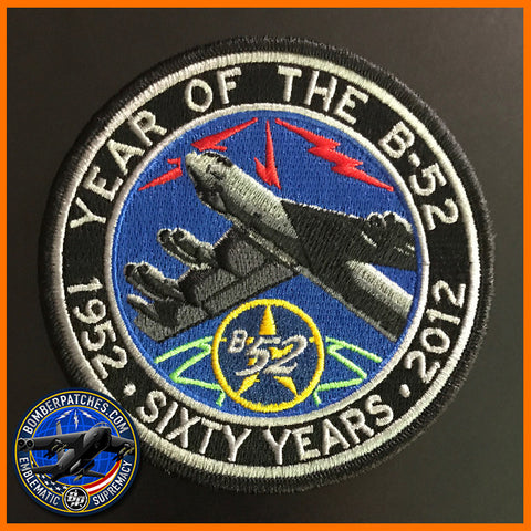 B-52 Stratofortress 60th Anniversary Global Strike Command Patch