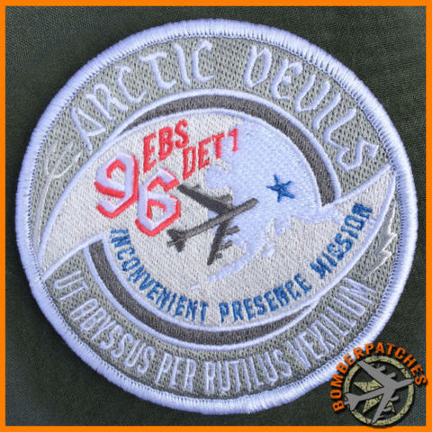 96th Expeditionary Bomb Squadron Arctic Devils Patch